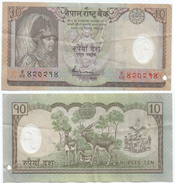 Nepal 10 Rupees 2005 (polímero) Pick 54 Ref 1221 - Nepal