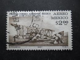 MEXIQUE Poste Aérienne N°278 AVION POSTAL Oblitéré - Flugzeuge