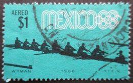 MEXIQUE Poste Aérienne N°288 JEUX OLYMPIQUES De MEXICO 1968 Oblitéré - Sommer 1968: Mexico
