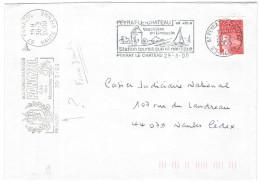 FRANCIA - France - 2000 - Marianne De Luquet Rouge + Flamme Station Touristique Et Nautique + FD ??? - Seul - Viaggia... - Francia