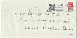 FRANCIA - France - 2002 - Marianne De Luquet Rouge + Flamme Porte De La Méditerranée + FD, Fausse Direction - Seul - ... - Francia