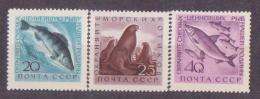 62-604 // USSR - 1960  FISH   Mi 2385/87 ** - 1923-1991 UdSSR