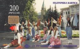 BOSNIA - Folk Costumes(200 Units), 01/98, Used - Bosnia