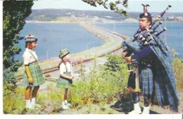"""The Canso Causeway From The Mainland Looking Towards Cape Breton Island """"The Road To The Isles"""" - Cape Breton"""
