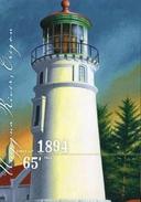 "Entier Posta Des USAl De 2007 Sur CP Avec Timbre Et Illust. ""Phare D'Umpqua River De 1894, D'Oregon"" - Vuurtorens"
