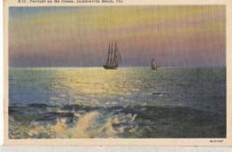 Etats Unis -  Florida - Jacksonville - Twilinght On The Océan   : Achat Immédiat - Jacksonville