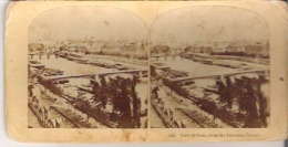 1545. View Of Paris, From The Tuileries, France - Stereoscope Cards