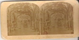 1550. Throne At The Palace Of Luxembourg,  Paris, France - Stereoscope Cards