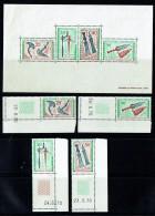 1970   Armes Traditionnelles  - Timbres PA Et  Bloc-feuillet ** - Gabon (1960-...)