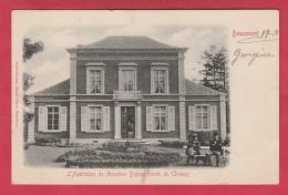 Beaumont - L'Habitation De Monsieur Dufour ( Route De Chimay ) - 1906 ( Voir Verso ) - Beaumont
