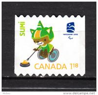 Canada, MNG, Handisport, Handicaps, Curling, Jeux Olympiques De Vancouver, Handicapé, Handicapped, Olympic Games