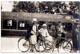 CARTE PHOTO 1926 ANIMEE CHATELLAILLON Confiserie Maurice - Châtelaillon-Plage