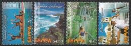 2005 Samoa Tourism Canoe Complete Set Of 4 MNH - Samoa (Staat)