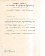 Saint-guiraud--rabieux-herault Gisements Dolomitique Et Hydraulique-formulaire Achat D'action - Shareholdings
