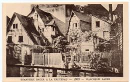 STRASBOURG - BUANDERIE LOUIS BAUER A LA KRUTENAU - 1868 -  Le Strasbourg Disparu - Maison D´Art Alsacienne - Strasbourg