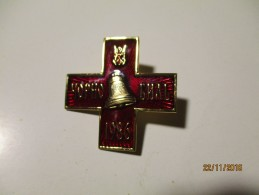 RUSSIA USSR BADGE CROSS ORDER FOR LIQUIDATING OF CHERNOBYL NUCLEAR DISASTER XX ,o - Other