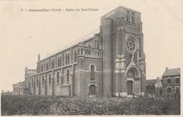 CPA Annoeullin Eglise Du Sacré-Coeur - France
