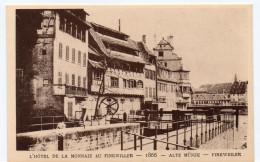 STRASBOURG -  L´HÔTEL DE LA MONNAIE AU FINKWILLER - 1866 -  Le Strasbourg Disparu - Maison D´Art Alsacienne - Strasbourg