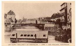 "STRASBOURG - LES BAINS "" MOLLARD ""  AU FINKWILLER  - 1866 -   - Le Strasbourg Disparu - Maison D´Art Alsacienne - Strasbourg"