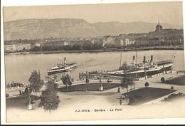 Cp Précurseur -    GENEVE - Le Port  158 - GE Ginevra