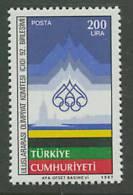 Turkey 1987 Olympic Games Stamp MNH - Zomer 1988: Seoel