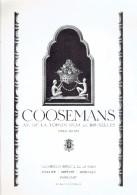 Publicité Joaillier Coosemans, Av Toison D´Or Bruxelles + Soudure Autogène Arcos + Radio SBR + Hochedez-Lannoy - Publicités