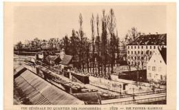 STRASBOURG - VUE DU QUARTIER DES PONTONNIERS - 1872 -  Le Strasbourg Disparu - Maison D´Art Alsacienne - Strasbourg