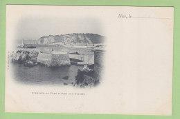 NICE : Parc à Huitres Et Entrée Du Port. Dos Simple. TBE. 2 Scans. Edition T B. Nice - Transport (sea) - Harbour