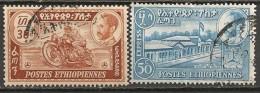 Timbres - Afrique - Ethiopie - Express - 1947- N° 1 Et 2 - - Ethiopie