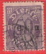 MiNr.6 D O Deutschland Deutsche Abstimmungsgebiete Oberschlesien Dienstpost - Duitsland