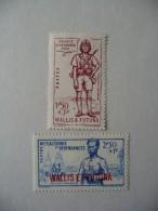 "Wallis Et Futuna 1941  N° Y&T  88/89 "" Défense De L'Empire ""  2V  Neuf - Wallis-Et-Futuna"