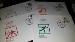 Old Letter - Yugoslavia, Olympic Games 1984 Sarajevo - Yugoslavia