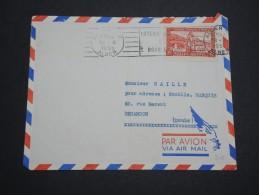 FRANCE / ALGÉRIE - Enveloppe De Alger Pour La France En 1955 , Affranchissement Plaisant - A Voir - L 5215 - Algeria (1924-1962)