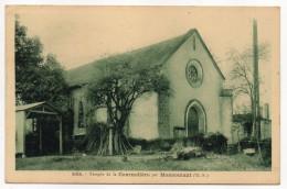 MONCOUTANT--Village De La Cournolière--Le Temple (protestantisme) N° 565 Phototypie Jehly-Poupin..........à Saisir - Moncoutant
