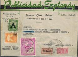 KOLUMBIEN 1950 - Beleg Mit MiNr: 522+572+592+614+Zwang 42 - Kolumbien
