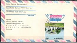 KOLUMBIEN 1982 - Luftpostbeleg Mit MiNr: 1595 - Kolumbien