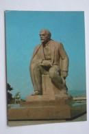 GEORGIA. TBILISI.  LENIN MONUMENT  1984 - Stationery Postcard - Monuments