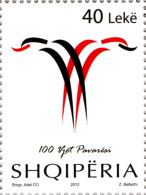 Albania Stamps 2012. 100 Years Of Independence - Set MNH - Albania