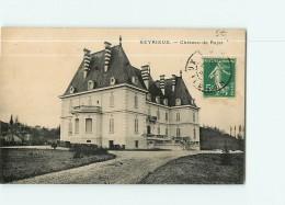 HEYRIEUX - Château De RAJAT - BE - 2 Scans - France