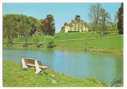 Authon Du Perche (28) L'etang Et Le Chateau De La Goguerie - Frankrijk