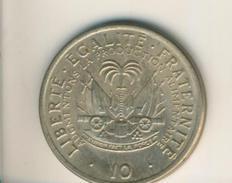 Haiti V. 1975  10 Cent  (49146) - Haïti