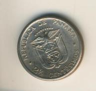 Panama V. 1973  2,5 Centesimos  (49148) - Panama