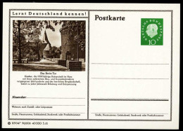 94482) BRD - Bildpostkarte P 53 - 96/606 - * Ungebraucht - 10Pf Heuss II - Goslar, Das Breite Tor - [7] République Fédérale