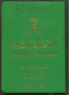 Saudi Arabia Passport Issue 1996 - Visa Read Description- Conditin As In Scan - Historische Documenten