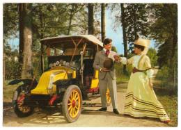Automobile - Voiture - Teuf Teuf Et Belle Epoque - Cylindres Renault 1908 - Costume - Ansichtskarten