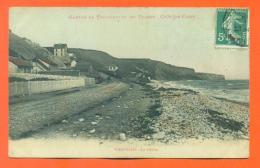 """CPA 14  Vierville  """" La Falaise """"  LJCP 7 - Autres Communes"""