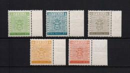 ZWEDEN STOCKHOLMIA YV.399/403 POSTFRIS** 1955 CAT: 20 EURO H 11 A110