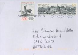 Frankreich France Hirsch Cerf Buffon Histoire Naturelle Vaux Le Vicomte Schloss Gartenanlage - Brieven En Documenten