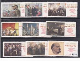 """URSS 1970: Serie Completa MNH(**) """" Centenario Della Nascita Di Lenin """" - 1923-1991 USSR"""