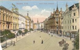 BEUTHEN  O.S. KAISER FRANZ JOSEFPLATZNON ECRIS VOIR SCAN COUPURE BAS GAUCHE - Poland
